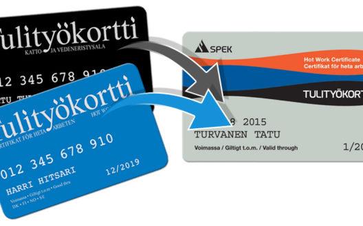 Põhjamaade tuletöökaardi koolitus (halli kaardi koolitus)